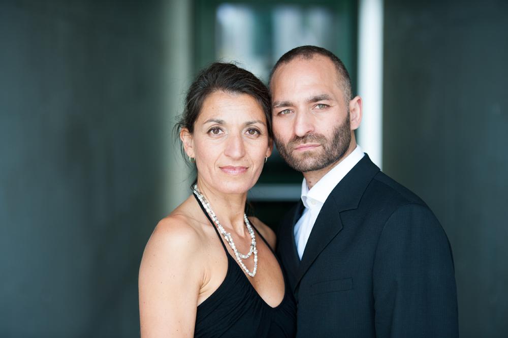 Hochzeitsfotos von Portrait