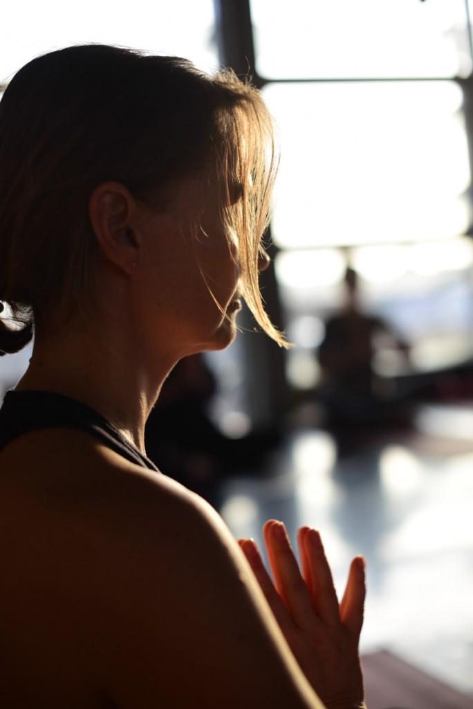 Hochzeitsfotos von Yogaworkshop