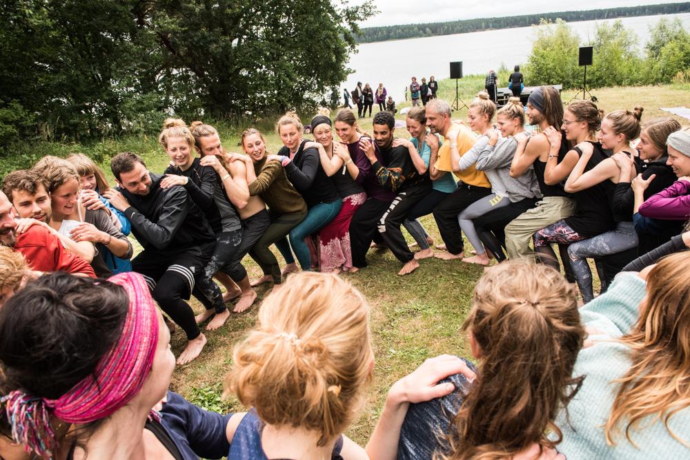 Hochzeitsfotos von Yoga United